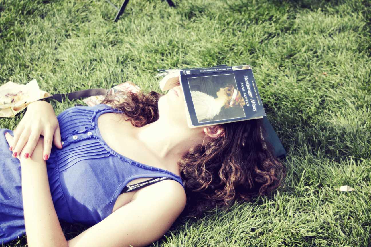 Sleep after reading