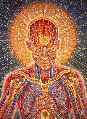 Alex Grey Psychedelic Art